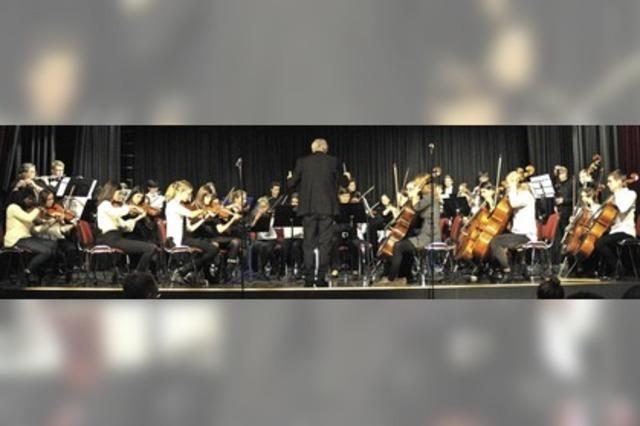 Konzert der Musikschule eröffnet mit einer besonderen Premiere
