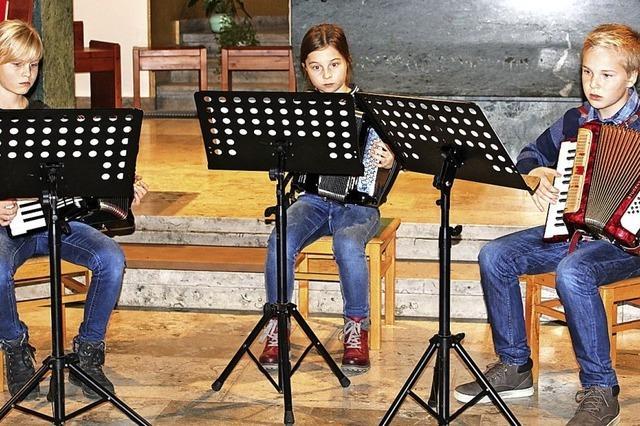 Große Bühne für junge Musikanten