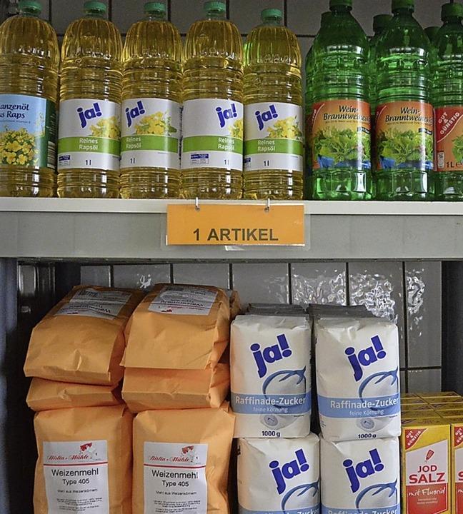 Haltbare Lebensmittel sind besonders wichtig.   | Foto: Archiv: Böhm-Jacob