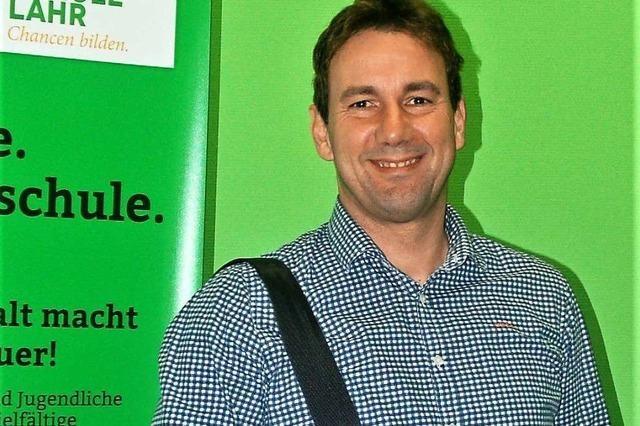 Was der neue Rektor Stephan Seizinger an der Friedrichschule plant