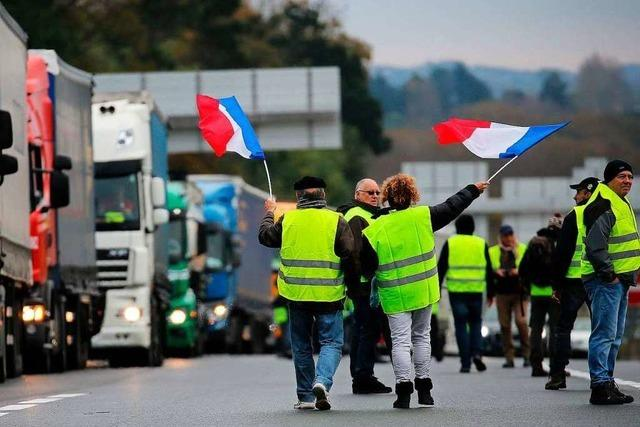 Französische Regierung verschiebt Erhöhung der Ökosteuer