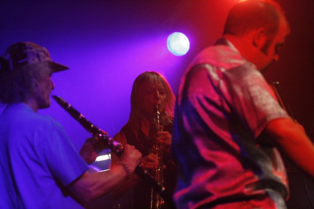 Perry Robinson 2007 mit Barbara Thomps...ne) beim ZMF-Konzert von Paraphernalia  | Foto: Wolfgang Grabherr