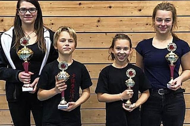 Erfolgreiche Nachwuchs-Shaolin