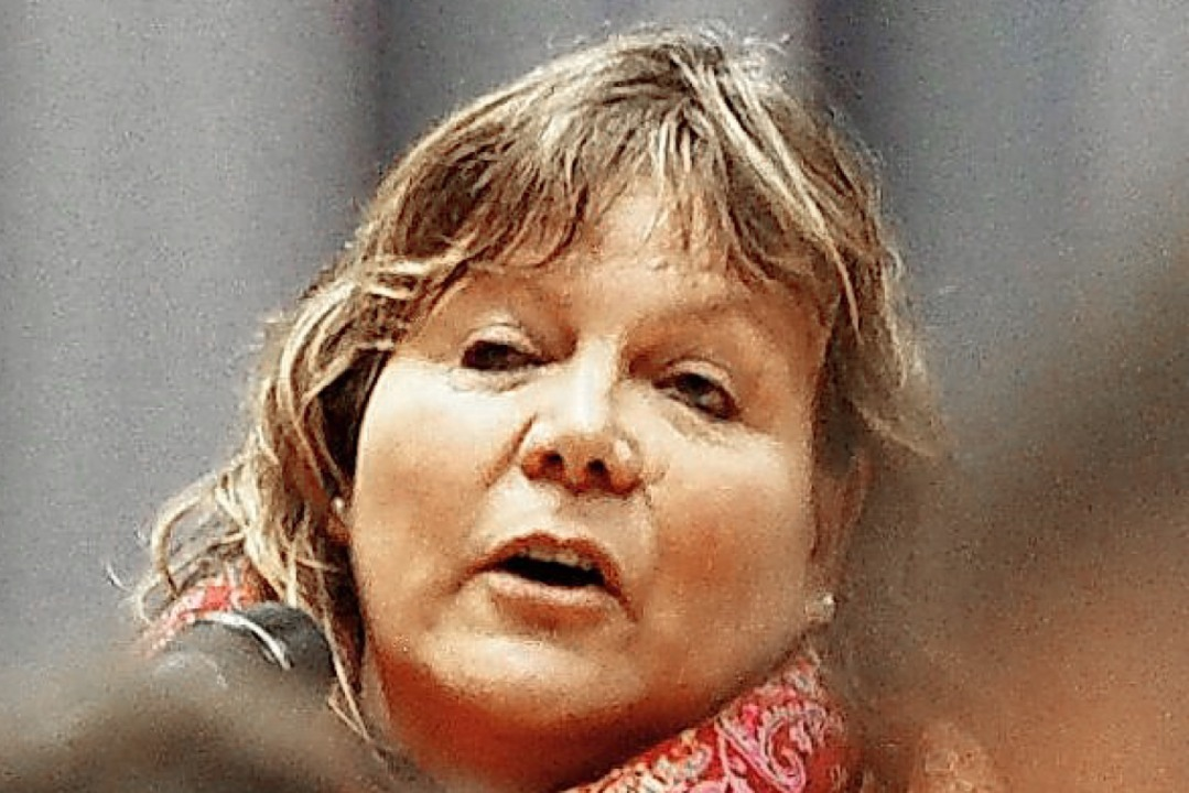 Martina Braun ist Politikerin und Landwirtin.  | Foto: Susanne Gilg