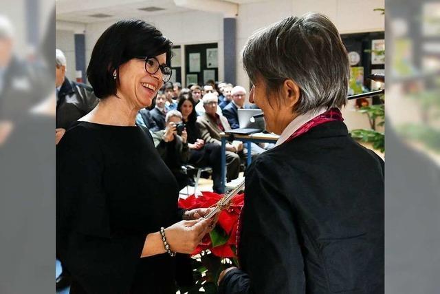 Dagmar Frenk als neue Rektorin ins Amt eingeführt