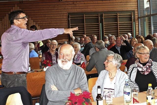Stimmung bei den Senioren