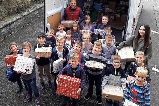Geschenke für Kinder in Osteuropa