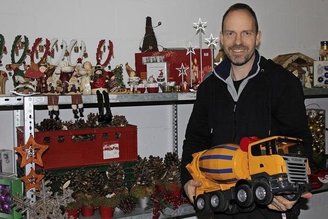 Weihnachtsverkauf im Sozialkaufhaus