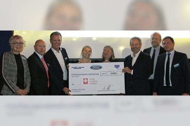 Autohaus Ernst + König spendet 57 620 Euro