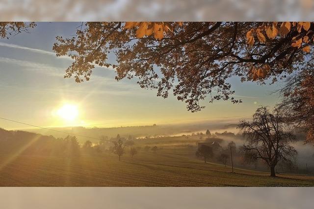 Viele Sonnenstunden im letzten Herbstmonat