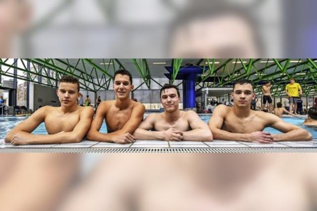 Freiburger Jugend schwimmt auf Erfolgswelle