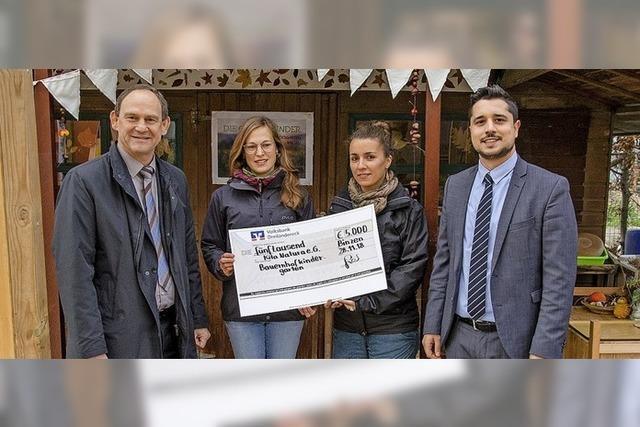 5000 Euro für Kindergarten