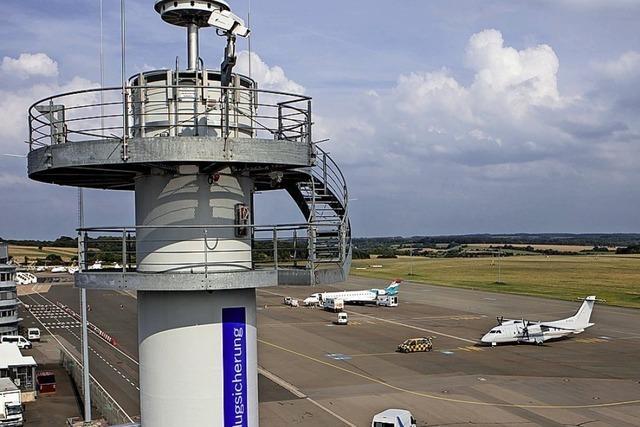 Fernsteuerung für einen Flughafen