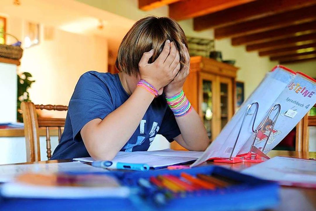 Nicht nur Kindern mit ADHS fällt es manchmal schwer, sich zu konzentrieren.     Foto: dpa