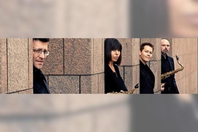Neujahrskonzert mit dem Raschèr Saxophone Quartet in Ettenheim