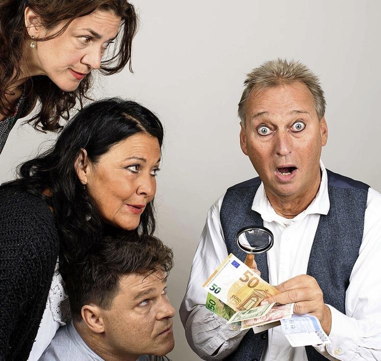 Nicole Djandji-Stahl, Christine Kallfaß, Olaf Creutzburg und Bernd Lafrenz   | Foto: Achim Käflein