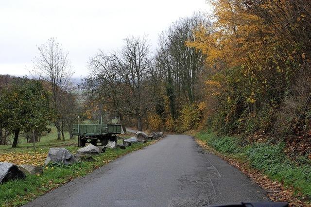 Ortschaftsrat für Tempo 30 am Schneckenberg