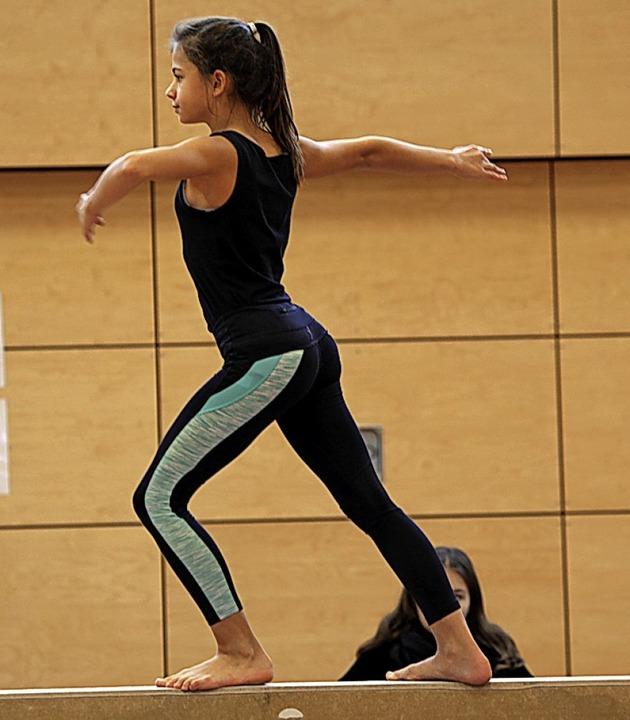 Körperbeherrschung  | Foto: Uwe Rogowski