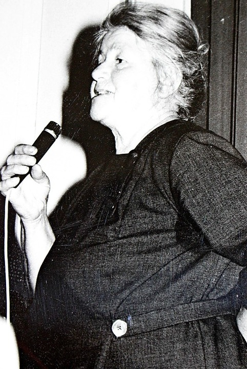 Luise Genter, so wie man sie von der einstigen Wehrahofbühne kannte.   | Foto: Archivbild: Hansjörg Bader