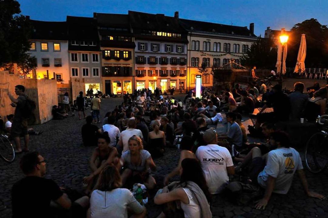 Gegröle bei Nacht  | Foto: Bamberger (honorarfrei) Michael, bearbeitet jki