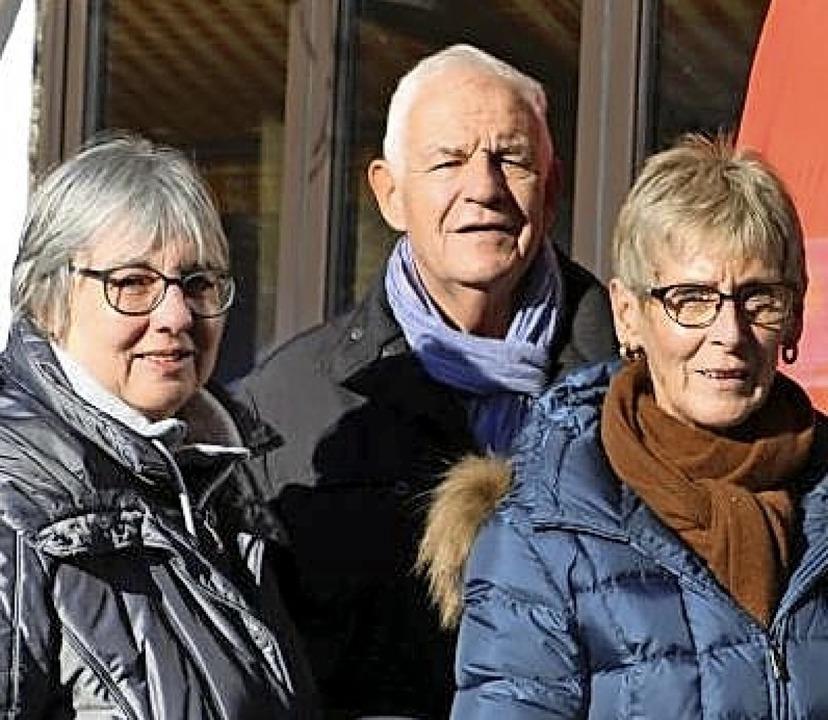 <BZ-FotoAnlauf>SPD-Ortsverein: </BZ-Fo...r Stickelberger und Monika Sulzberger   | Foto: S. Reinelt