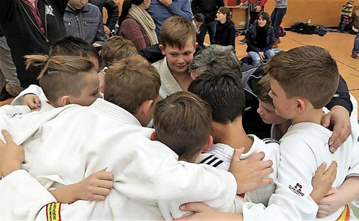 <BZ-FotoAnlauf>Judoschule Haltingen:</...r  können einen großen Erfolg feiern.   | Foto: BJörn Tscharnke