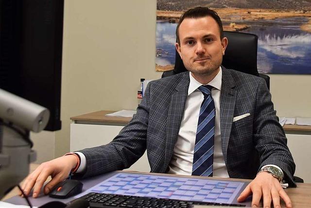 Fabian Hetmeier ist neuer Notariatsverwalter in Schopfheim