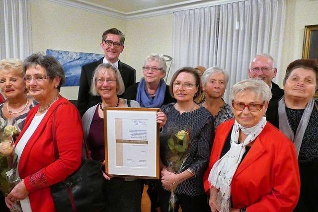 Rheinfelder DRK-Kleiderladen erhält den Bürgerpreis