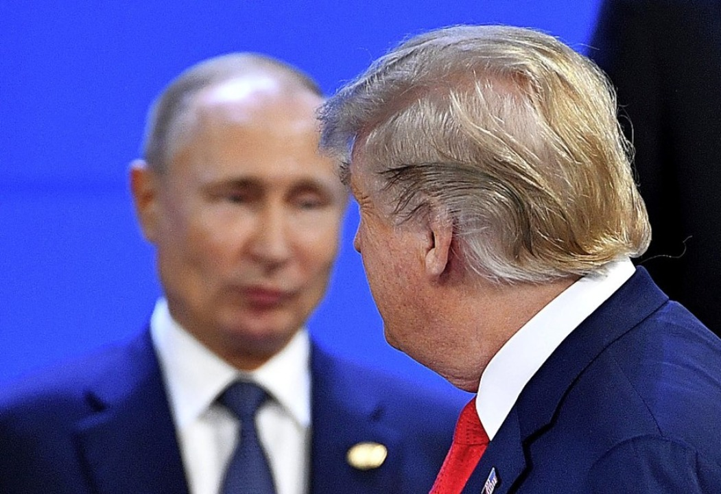 Wladimir Putin und Donald Trump  | Foto: AFP