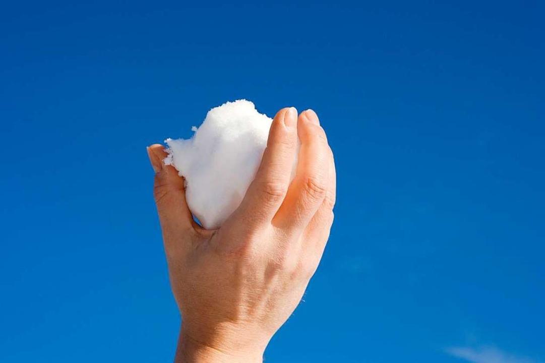 Auch eine Schneeballschlacht kann illegal sein.  | Foto: fotolia.com/imageteam