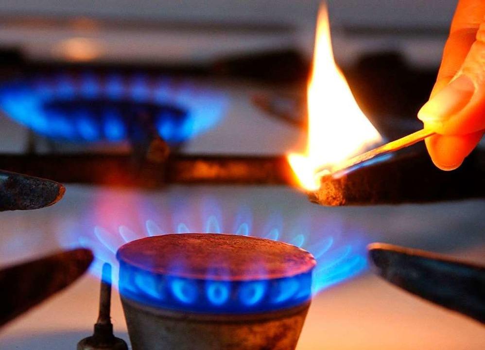 Erdgas wird bei Badenova nicht teurer.  | Foto: dpa