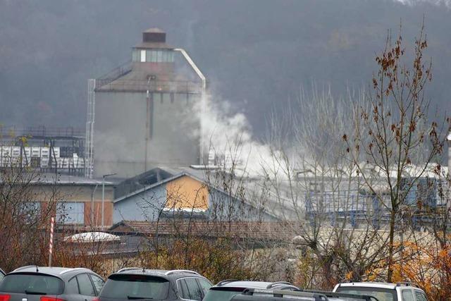 Explosion in der Rheinfelder Aluminiumfabrik – drei Verletzte