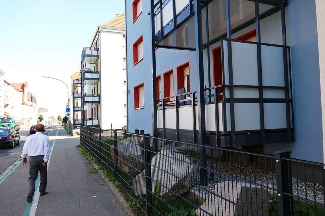 In Offenburg hat Vonovia Balkone zur S... hatten die Mieter schon einen Balkon.  | Foto: Burgmaier