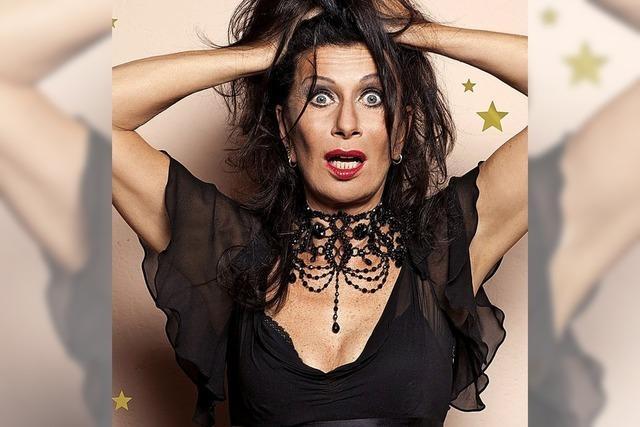 Vollblutkomikerin Patrizia Moresco mit