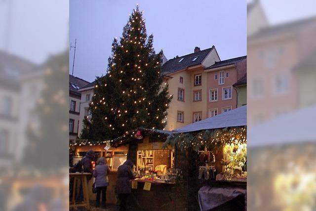 Weihnachtmarkt und Mittelaltermarkt von 7.-9. Dezember in der historischen Altstadt von Bad Säckingen.