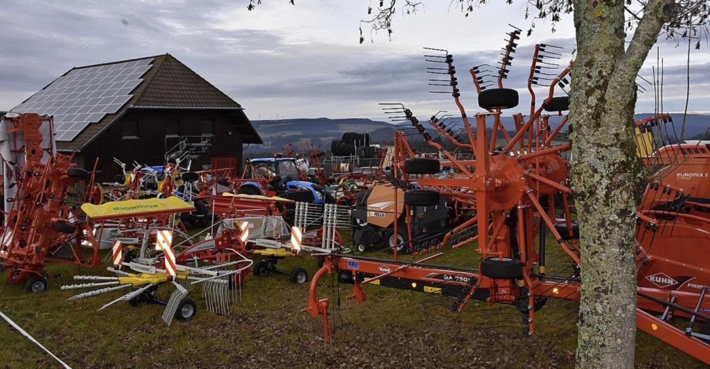 Braucht Platz: die Schuler Landtechnik   | Foto: Thomas Biniossek