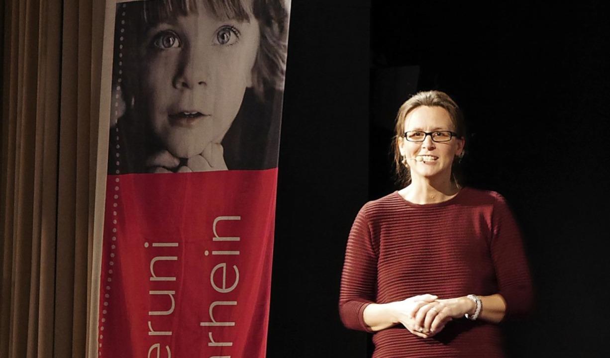 Lena Rohrbach aus Rippolingen, Profess...inderuni auf die Spuren der Wikinger.   | Foto: Marion Rank