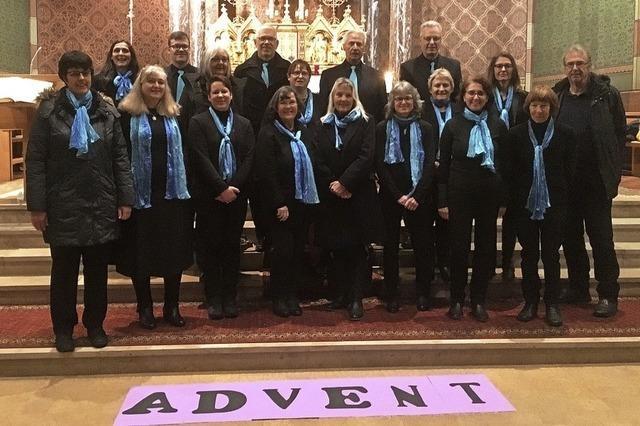 Gospelchor setzt Akzente im Advent