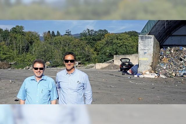 Lachengraben schafft Platz für Biomüll