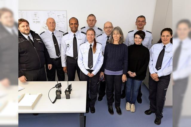 Polizeiposten-Einweihung