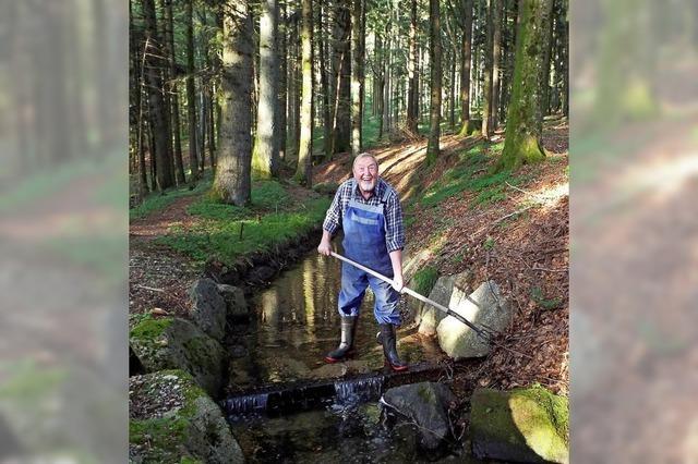 Wo Mönche den Lauf des Wassers beeinflussen