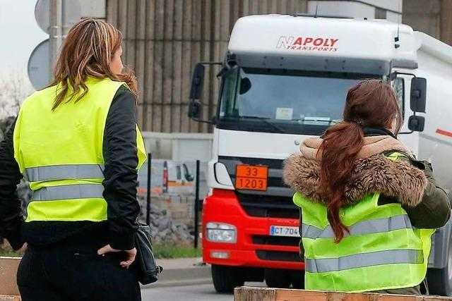 Gelbwesten wollen im Elsass protestieren – Behinderungen erwartet