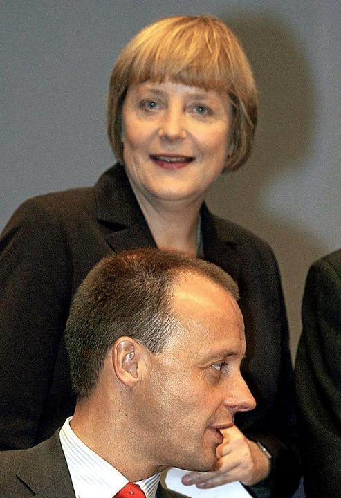<BZ-Keyword><Dreieck3o></Dreieck3o>Mer...unter Merkel  Generalsekretärin wurde.  | Foto: Andreas_Altwein