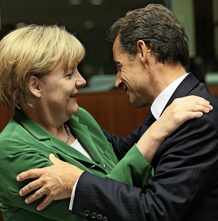 <BZ-Keyword><Dreieck3o></Dreieck3o>Mer...hlten EU-Gipfeln während der Eurokrise    Foto: Olivier Hoslet