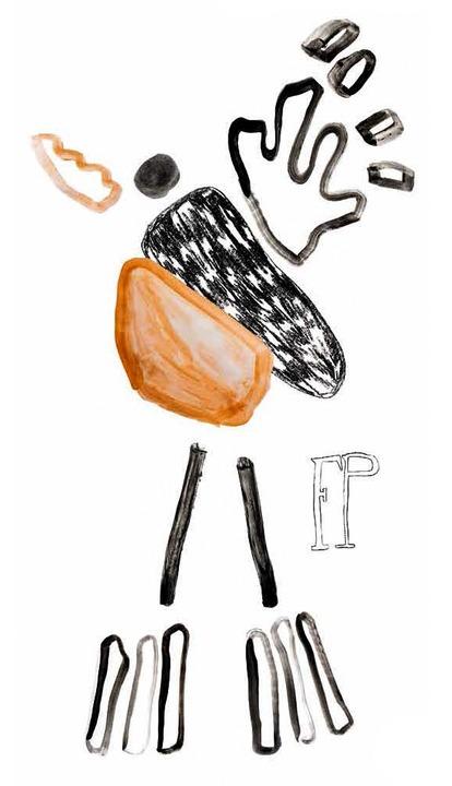 Der Kranich –   gezeichnet  von Nadine Goepfert