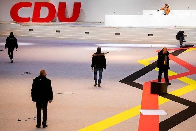 Liveblog: CDU-Parteitag in Hamburg wählt Kramp-Karrenbauer als Vorsitzende