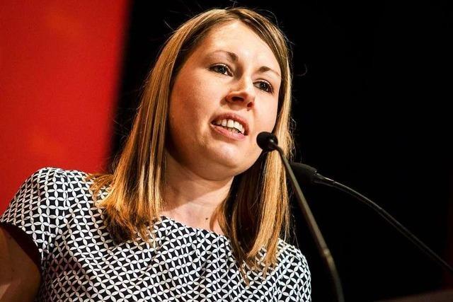 Luisa Boos verzichtet auf Platz 15 der Europawahl-Liste