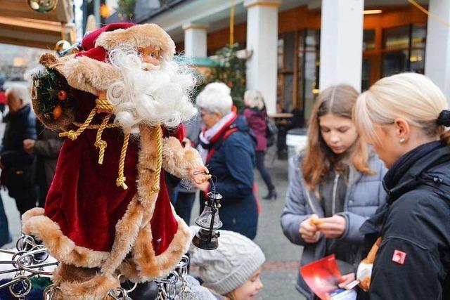 Der größte Ärger um den Lörracher Weihnachtsmarkt ist verraucht