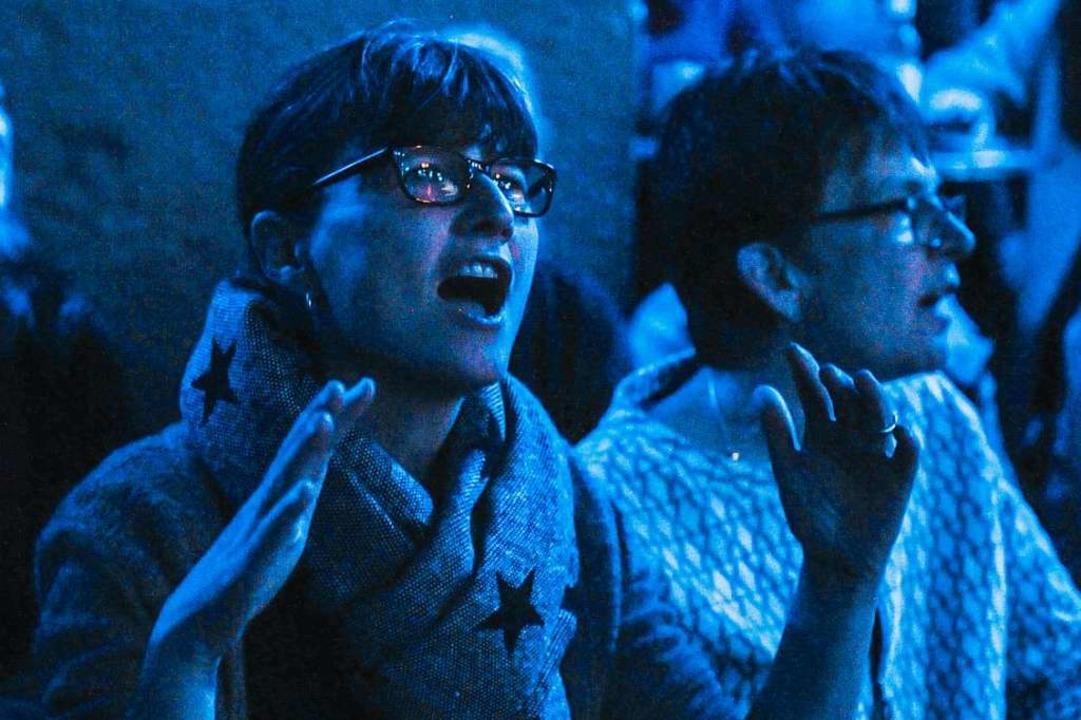 Die Stimmung war gut beim 6. BZ-Singalong  | Foto: Andrea Schiffner