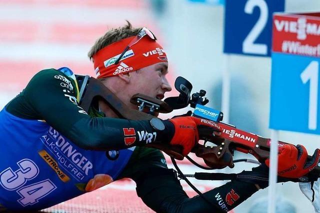 Benedikt Doll wird beim ersten Weltcup-Sprint des Winters Fünfter und ist bester Deutscher